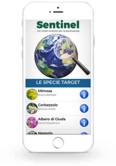 App Sentinel Istituto Ecoambientale